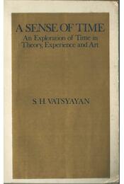 A Sense of Time - S. H. Vatsyayan - Régikönyvek
