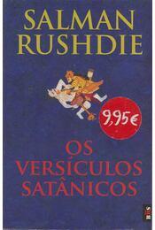 Os Versículos Satanicos - Salman Rushdie - Régikönyvek