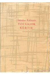 Tolvajok kertje - Sándor Kálmán - Régikönyvek