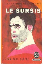 Les chemins de la liberté II - Le sursis - Sartre, Jean-Paul - Régikönyvek