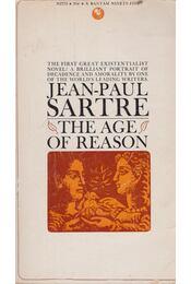 The Age of Reason - Sartre, Jean-Paul - Régikönyvek
