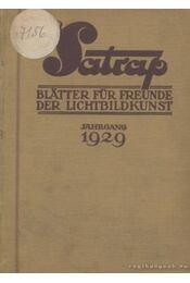 Der Satrap 1929 - Régikönyvek
