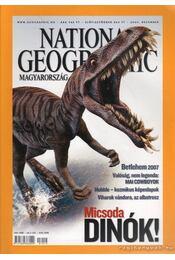 National Geographic Magyarország 2007. Decembe - Schlosser Tamás - Régikönyvek