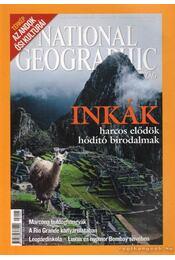 National Geographic Magyarország 2007. május - Schlosser Tamás - Régikönyvek