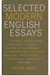 Selected Modern English Essays - Régikönyvek