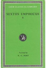 Against the Logicians - Sextus Empiricus - Régikönyvek