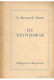 Öt szindarab - Shaw, G.B. - Régikönyvek