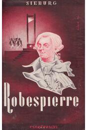 Robespierre - Sieburg, Friedrich - Régikönyvek