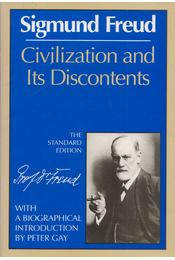 Civilization and its Discontents - Sigmund Freud - Régikönyvek