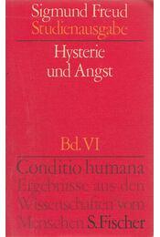 Hysterie und Angst - Sigmund Freud - Régikönyvek