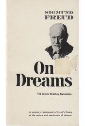 On Dreams - Sigmund Freud - Régikönyvek