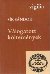 Válogatott költemények - Sík Sándor - Régikönyvek