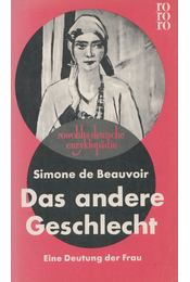 Das andere Geschlecht - Simone de Beauvoir - Régikönyvek