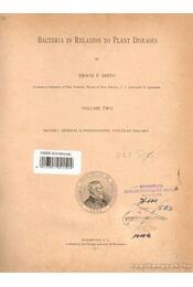 Bacteria in Relation to Plant Diseases I-III. kötet - Smith, Erwin F. - Régikönyvek
