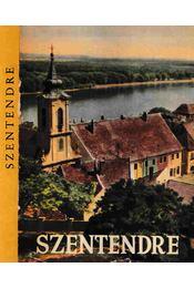 Szentendre - Soproni Sándor, Dr. Boros Lajos, Szombathy Viktor - Régikönyvek