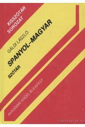 Spanyol-magyar szótár - Gáldi László - Régikönyvek