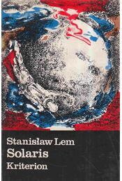 Solaris - Stanislaw Lem - Régikönyvek