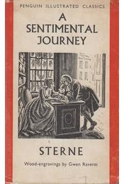 A Sentimental Journey Through France and Italy - Sterne, Laurence - Régikönyvek