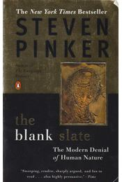 The Blank Slate - The Modern Denial of Human Nature - Steven Pinker - Régikönyvek