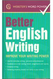 Better English Writing - Sue Moody - Régikönyvek