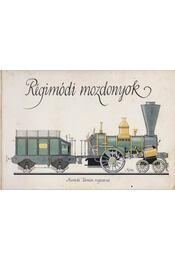 Régimódi mozdonyok - Sulyok Magda - Régikönyvek