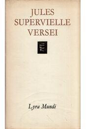Jules Supervielle versei - Supervielle, Jules - Régikönyvek