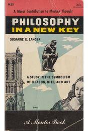 Philosophy in a New Key - Susanne Langer - Régikönyvek