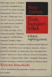 Évek - hazajáró lelkek - Sütő András - Régikönyvek