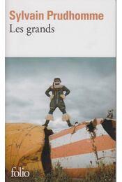 Les grands - Sylvain Prudhomme - Régikönyvek