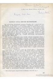 Rudnay Gyula szegedi művésztelepe (dedikált) - Szelesi Zoltán - Régikönyvek