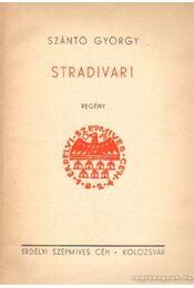 Stradivari - Szántó György - Régikönyvek
