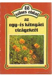 88 színes oldal az egy- és kétnyári virágokról - Szántó Matild - Régikönyvek
