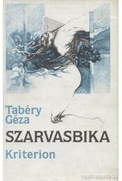 Szarvasbika - Tabéry Géza - Régikönyvek
