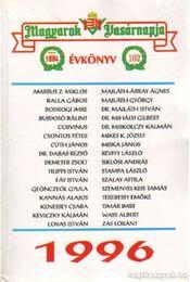 Magyarok Vasárnapja évkönyv 1996 - Szász Lóránt - Régikönyvek