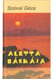 Aletta bárkája - Szávai Géza - Régikönyvek