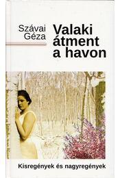 Valaki átment a havon - Szávai Géza - Régikönyvek