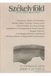 Székelyföld 2000/6 - Régikönyvek