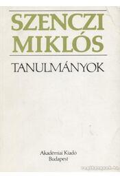 Tanulmányok - Szenczi Miklós - Régikönyvek