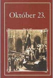 Október 23. - Szigethy Gábor - Régikönyvek