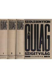 A Gulag szigetvilág 1-3. - Szolzsenyicin, Alekszandr - Régikönyvek