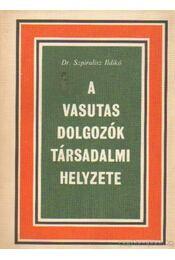 A vasutas dolgozók társadalmi helyzete - Szpirulisz Ildikó dr. - Régikönyvek