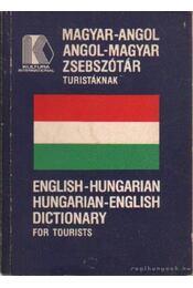 Magyar-angol angol-magyar zsebszótár turistáknak - Takács Géza - Régikönyvek