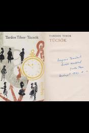 Tücsök (dedikált) - Tardos Tibor - Régikönyvek