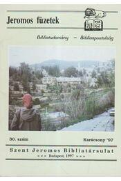 Jeromos füzetek 30. szám - Tarjányi Béla - Régikönyvek