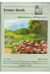 Jeromos füzetek 43.szám - Tarjányi Béla - Régikönyvek