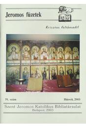 Jeromos füzetek 51.szám - Tarjányi Béla - Régikönyvek