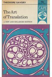The Art of Translation - Theodore Savory - Régikönyvek