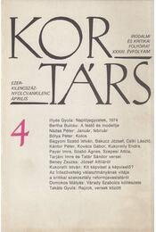 Kortárs 1989/4 - Thiery Árpád - Régikönyvek