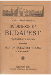 Guide-book of Budapest - Thirring Gusztáv dr. - Régikönyvek