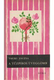 A tűzpiros üveggömb - Thury Zsuzsa - Régikönyvek